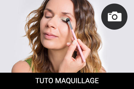 TUTO MAQUILLAGE : Maquillage printanier – osez le vert !