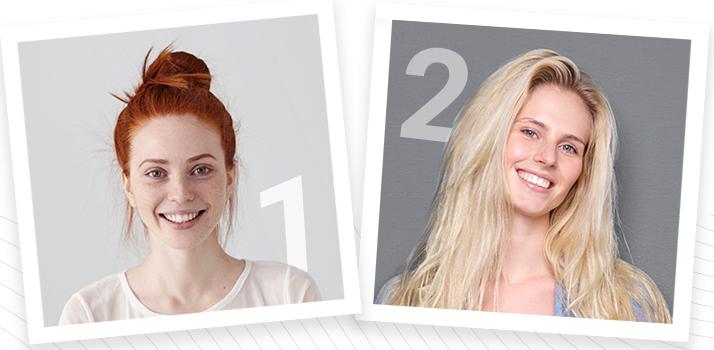 Phototypes 1 et 2