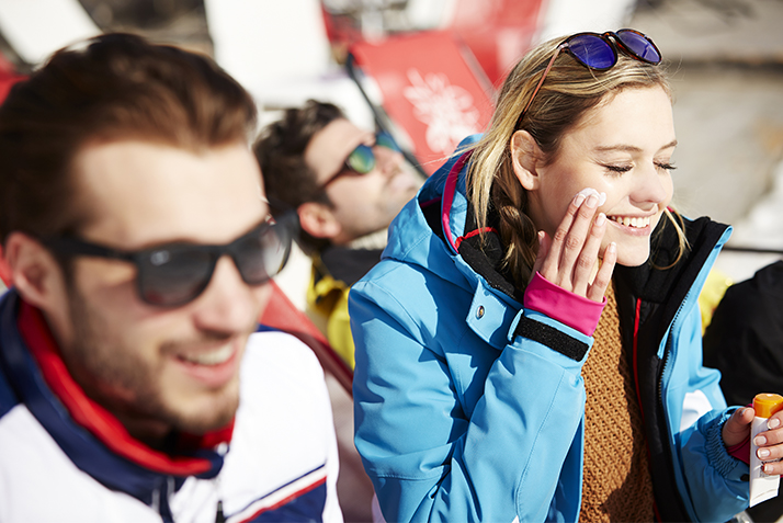 protection solaire ski