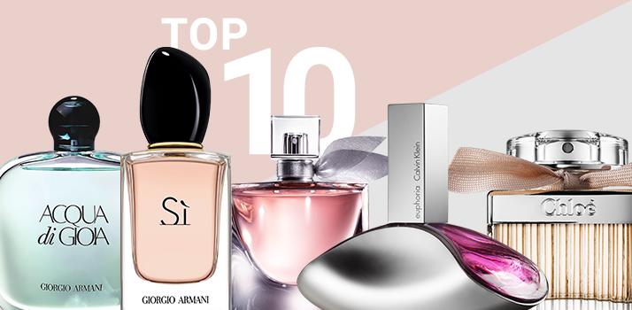 le top 10 des parfums pour femmes. Black Bedroom Furniture Sets. Home Design Ideas