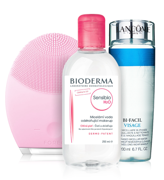 Produits pour le nettoyage de la peau et le démaquillage